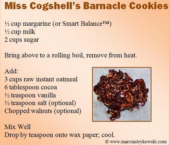 barnacle cookies
