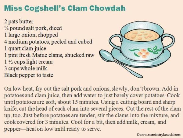 chowdah recipe