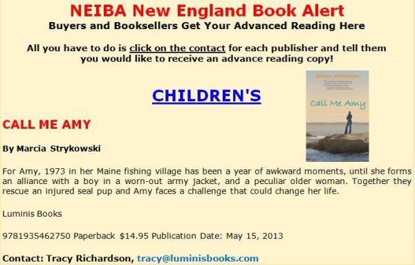 NEIBA book alert 2