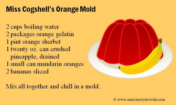 orange mold recipe