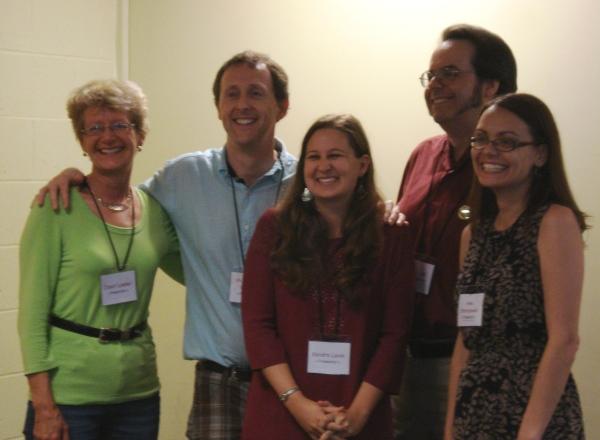 ENCORE presenters: Janet Lawler, Mark Peter Hughes, Kendra Levin, J. L. Bell, Anna Staniszewski