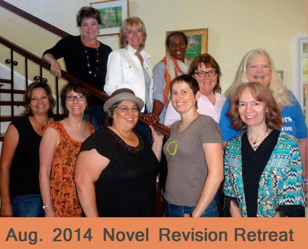 novel revision retreat blog