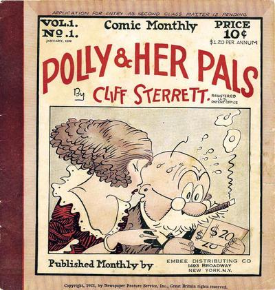 comic book 1922