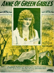 443px-Sheet_music_cover_-_ANNE_OF_GREEN_GABLES_(1919)