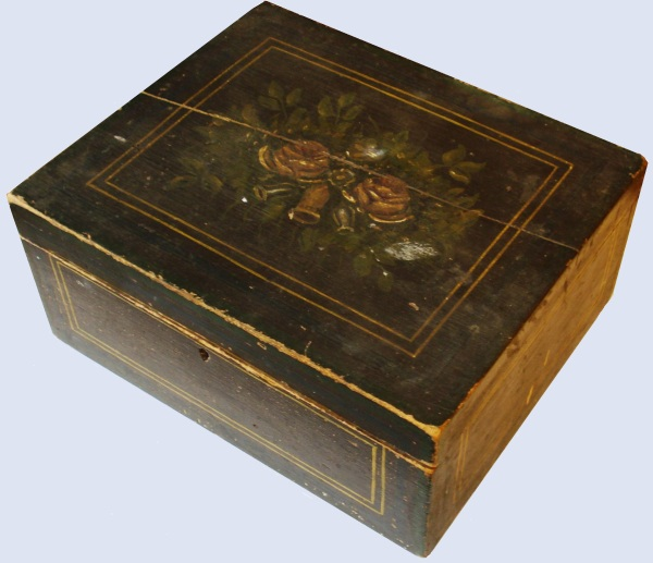 elmerta's sewing box blue