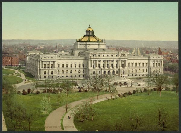 library of congress public domain