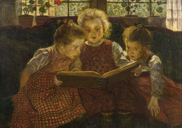 Walther_Firle_The_fairy_tale c 1900
