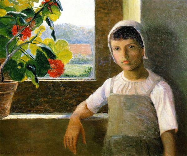 Lilla_Cabot_Perry,_1889_-_La_Petite_Angèle_II