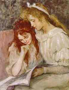 Marie-louise-catherine-breslau-alemanha-meninas-lendo-1897