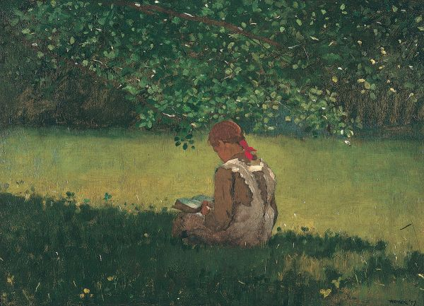 Winslow_Homer,_Reading_by_the_Brook,_1879._Oil_on_canvas._Memphis_Brooks_Museum_of_Art,_Memphis,