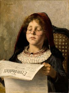 XX Georgios_Jakobides_Girl_reading_c1882