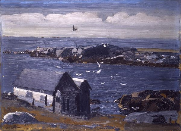 monhegan-george-bellows-the-gulls-1911