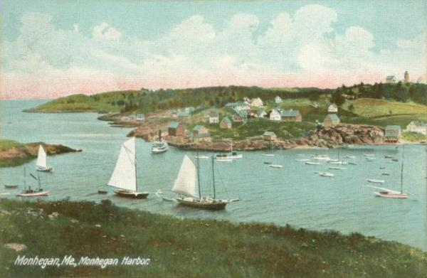 monhegan-harbor-1909-postcard