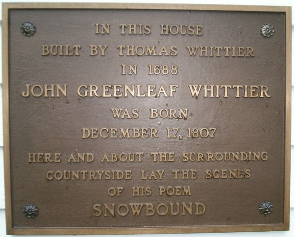 john-whittier_birthplace_-_plaque